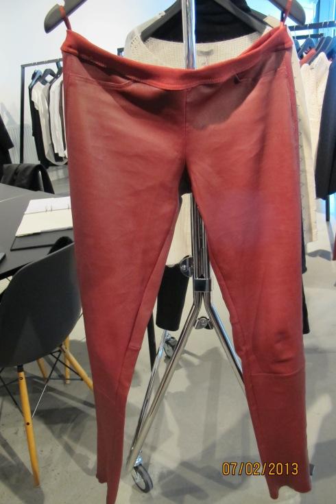 Skinn bukse fra Honkydory - FANTASTISK!