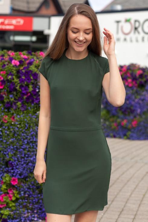 Icar grønn kjole forside