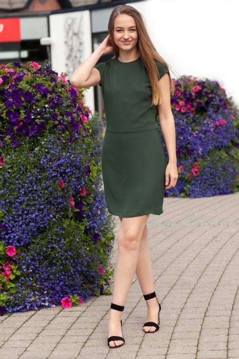Icar grønn kjole heltotalt