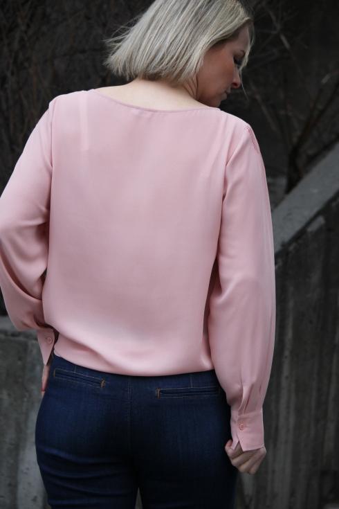 filippa rosa bluse bak