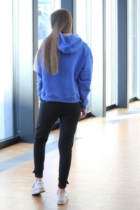 holz blå hoodie bak