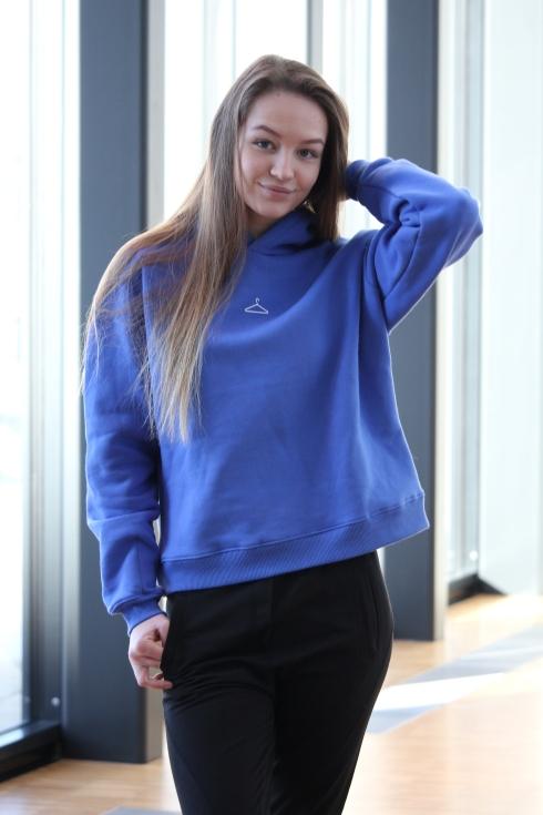 holz blå hoodie side2