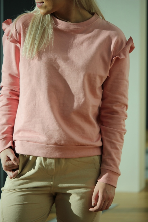 sf rosa sweat detalj