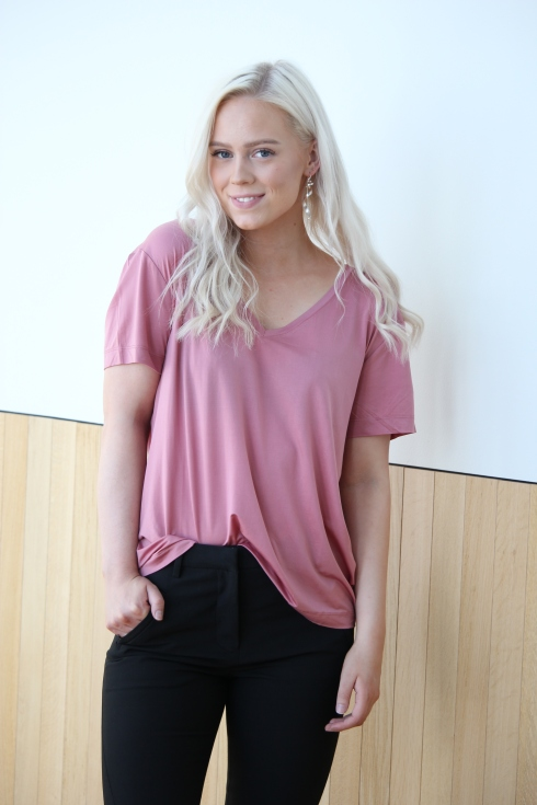 ss rosa tee for