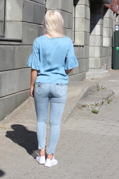 ss blå topp bak