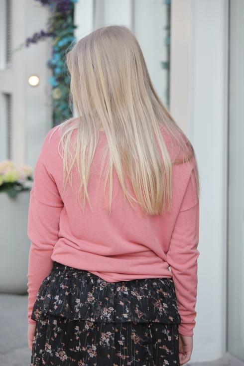 ss rosa tynn genser bak
