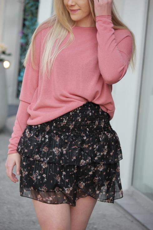 ss rosa tynn genser detalj
